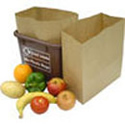 Paper Food <br> Waste Liners